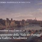Sala dei paesaggi nella Galleria dell'Accademia Nazionale di San Luca