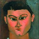 Amedeo Modigliani, Moïse Kisling, 1915, Olio su tela, 29 x 37 cm, Milano, Pinacoteca di Brera | Courtesy of Palazzo Ducale, Genova 2017 © Laboratorio fotoradiografico della Pinacoteca di Brera