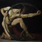 Roberto Ferri, ACHILLE, 2017, Olio su tela, 199.8 x 170 cm | Courtesy of Roberto Ferri e Fondazione Stelline