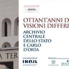 80 anni di EUR. Visioni differenti. Archivio centrale dello Stato e Carlo D'Orta