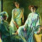 Umberto Boccioni, Tre donne, 1809-1810, Olio su tela, Milano, Gallerie d'Italia - Piazza Scala, Collezione Intesa san Paolo