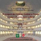 Il recupero del Delicies Goldoni a Firenze. Cronaca di un restauro sofferto - Conferenza