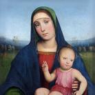 Chantilly, Musée Condé | FrancescoFrancia,  Vergine col Bambino, Tavola, 44 x 57 cm, Chaalis | © Studio Sébert - Institut de France, Abbaye Royale de Chaalis