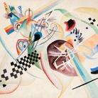 Vasilij Vasil'evič Kandinskij, Su bianco (I), 1920, Olio su tela | © State Russian Museum, St. Petersburg