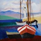 Moïse Kisling (Kraków, 1891 −Bandol, 1953), St-Tropez, 1918, Olio su tela, 54.2 x 65.2 cm, Collezione Jonas Netter