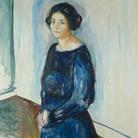 Edvard Munch,Inger Barth 1921 olio su tela, 130 x 100 cm Ars Longa collezione Vita Brevis © The Munch Museum / The Munch-Ellingsen Group by SIAE 2013