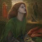 Dante Gabriel Rossetti, Beata Beatrix, 1872. Olio su tela, cm 86x66. Tate Britain, Londra