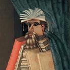 Giuseppe Arcimboldo (copia da), Il Bibliotecario, Olio su tela, 71 x 97 cm, Svezia, Castello di Skokloster