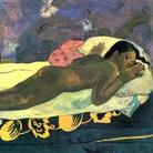 Paul Gauguin, Manao tupapau – Lo spirito dei morti veglia, 1892, Olio su tela ruvida montata su tela, 92.4 x72.4 cm, The Albright–Knox Art Gallery, Buffalo, New York