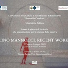 Lino Mannocci. Recent works