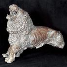 Antonio Ligabue, Leone ruggente, terracotta, 1936, 35x44x17 cm