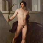 Francesco Hayez, Atleta trionfante, 1813, Olio su tela, 155 x 225 cm, Accademia Nazionale di San Luca, Roma