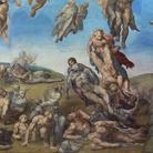 Michelangelo Buonarroti, Giudizio universale, Particolare, 1537-1541, Affresco, 13.7 x 12.2 m, Cappella Sistina, Musei Vaticani, Città del Vaticano, Roma