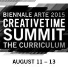 Creative Time Summit. The Curriculum