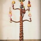 L'albero della cuccagna. Nutrimenti dell'arte - Luigi Ontani. AlnusThaiAurea