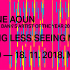 Caline Aoun. Seeing less seeing more