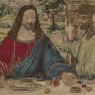 L'arazzo ispirato al Cenacolo di Leonardo brilla ai Vaticani