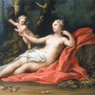 Jacopo Amigoni, Venere e Amore, 1739-1740 circa, Olio su tela, 69 x 47.6 cm
