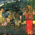 Paul Gauguin, Ia Orana Maria, 1891, Olio su tela, 87.7 x 113.7 cm, Metropolitan Museum of Art, New York City