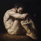 Roberto Ferri, L' ABISSO, 2017, Olio su tela, 50 x 50 cm | Courtesy of Roberto Ferri e Fondazione Stelline