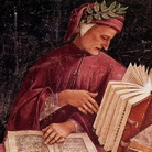 Luca Signorelli, ritratto di Dante: affresco (databile fra il 1500 e il 1504) nella Cappella della Madonna di San Brizio, nel Duomo di Orvieto.