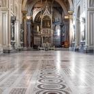 Navata centrale della Basilica di San Giovanni in Laterano a Roma, Immagine tratta dal film
