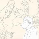 Alvise Bittente per ARTE.it, Franceschini e Castigo, 31 agosto 2021, Venezia, Conferenza stampa di apertura dei due nuovi monumentali saloni al piano terra dedicati alla pittura del Seicento e Settecento e nuove sale delle Gallerie dell'Accademia