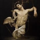 Roberto Ferri, SCHIAVO DELL'OMBRA, 2018, Olio su tela, 100 x 120 cm | Courtesy of Roberto Ferri e Fondazione Stelline