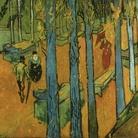 Vincent van Gogh, Foglie cadenti (Les Alyscamps), Olio su tela, Novembre 1888, Otterlo Museum