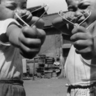 Nobuyoshi Araki, Satchin and his brother Mabo, 1963-1965   © Nobuyoshi Araki