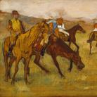 Edgar Degas (1834–1917), Prima della gara, 1882-1884, Olio su pannello, 26.4 cm x 34.9 cm, Mount Vernon-Belvedere, Baltimore, Walters Art Museum