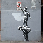 Banksy, Graffiti is a crime, New York
