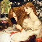 Dante Gabriel Rossetti, Lady Lilith, 1866–1868. Olio su tela, cm 96,5x85,1