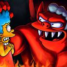 The Devil, pp. 28-29, Fotogramma dalla XXIII edizione annuale degli episodi Treehouse of Horror della serie The Simpsons, 7 ottobre 2012 | Credito fotografico: © FOX via Getty Images