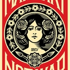 Shepard Fairey aka Obey. Make art not war