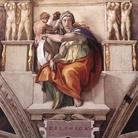 Michelangelo Buonarroti, Sibilla Delfica, 1508-1510 circa. Affresco, cm 350 x 380. Cappella Sistina, Musei Vaticani