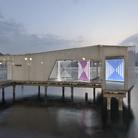 Quattro opere luminose di Daniel Buren per Mirad'Or