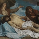 Anthony Van Dyck (1599 - 1641), Il compianto sul Cristo morto, 1634-1635, Olio su tela, 2018 x 115 cm, Anversa, Koninklijk Museum voor Schone Kunsten - Royal Museum of Fine Arts Antwerp (KMSKA) | © KMSKA www.lukasweb.be - Art in Flanders | Foto: Hugo Maertens