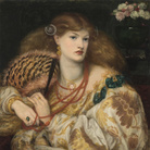 Dante Gabriel Rossetti (1828 - 1882), Monna Vanna, 1866, Olio su tela, 86.4 x 88.9 cm, Tate, Purchased with assistance from Sir Arthur Du Cros Bt and Sir Otto Beit KCMG through the Art Fund 1916 | © Tate, London 2019