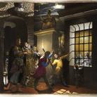 Antonio Campi. Santa Caterina visitata in carcere dall'imperatrice Faustina