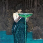 John W. Waterhouse, Circe invidiosa, 1892, Olio su tela, Adelaide, Art Gallery of South Australia
