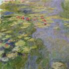 Claude Monet (1840 - 1926), Lo stagno delle ninfee, 1917-1919 circa, Olio su tela, 130 x 120 cm, Parigi, Musée Marmottan Monet, Lascito Michel Monet, 1966 Inv. 5165 | © Musée Marmottan Monet, Académie des Beaux-Arts, Paris
