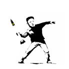 Max Papeschi, BANSKY / Leader is in the Air, 2016,