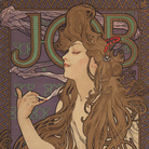 Alphonse Mucha, Job, 1896, Litografia a colori e doratura, 44.5 x 59 cm, Gretha Arwas Collection, Londra | © Arwas Archives