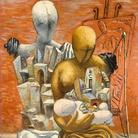 Giorgio De Chirico, La famiglia del pittore 1926. © DACS, 2002