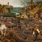 Pieter Bruegel il giovane, Primavera, 1522-26, olio su tavola
