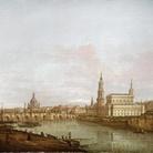 Pietro Bellotti, Dresda: il ponte di Augusto dalla riva destra dell'Elba, cm 61 x 88. Londra, Rafael Valls Ltd.
