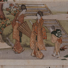Katsushika Hokusai, Visiting the Meguro Fudson Temple | Courtesy of Sumida Hokusai Museum, Tokyo 2017