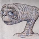 Carlo Rambaldi, Studi per espressioni facciali E.T. | © Fondazione Culturale Carlo Rambaldi