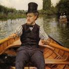 Gustave Caillebotte (1848 - 1894), La Partie de bateau, 1877-1778, Olio su tela, 90 x 117 cm, parigi, Collezione privata